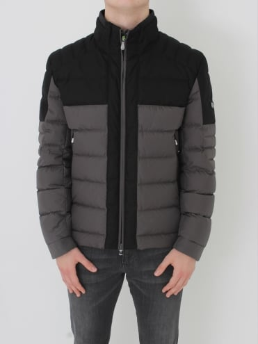 - BOSS Green Jonkins 3 Down Jacket - Medium Grey
