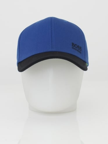 - BOSS Green Logo Cap 14 - Medium Blue