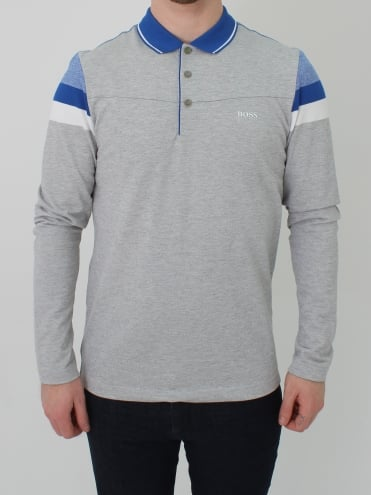 Pleesy Polo - Pastel Grey