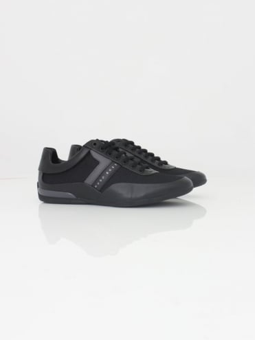 - BOSS Green Space Low Trainer - Black
