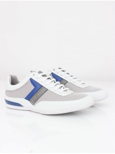 - BOSS Green Space Low Trainer - Optic White
