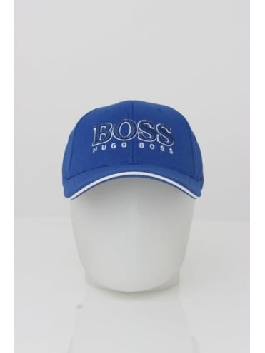 - BOSS Green US Logo Cap - Open Blue