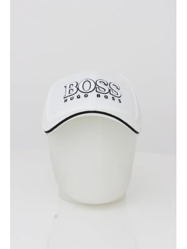 - BOSS Green US Logo Cap - White