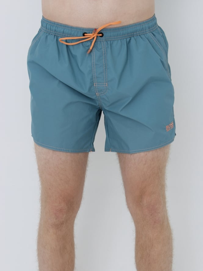BOSS - BOSS Hugo Boss Lobster Swim Shorts - Pastel Blue