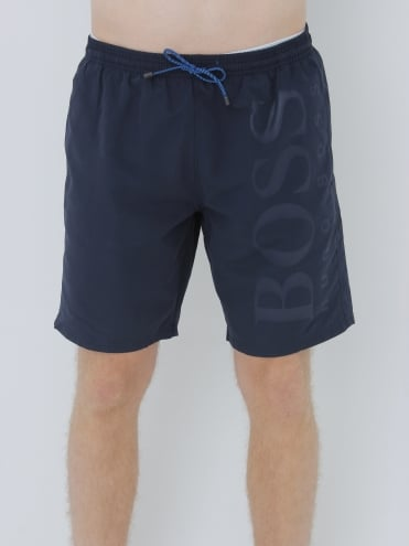 - BOSS Hugo Boss - Orca Swim Shorts - Navy