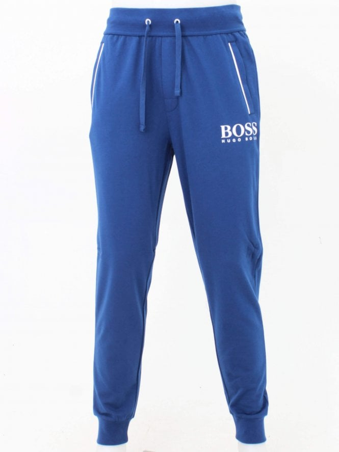 BOSS Loungewear Authentic Logo Pants - Medium Blue