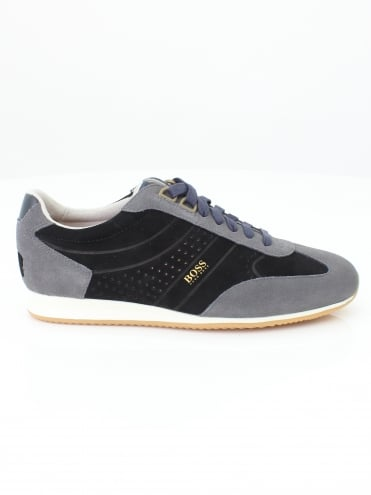 Orland Low Trainer - Black