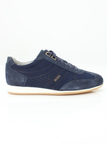 Orland low trainer - Dark Blue