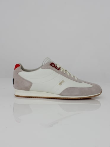 Orland Low Trainer - Open White