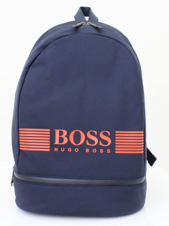 BOSS Pixel Backpack - Navy