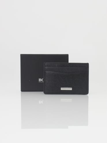 Signature Money Clip Wallet - Black
