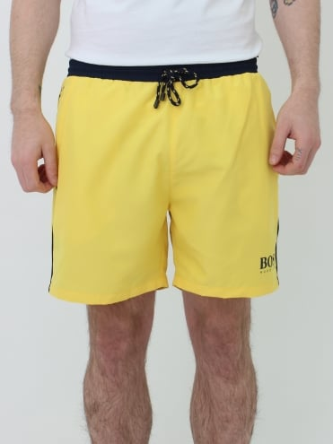 Starfish Swim Shorts - Yellow