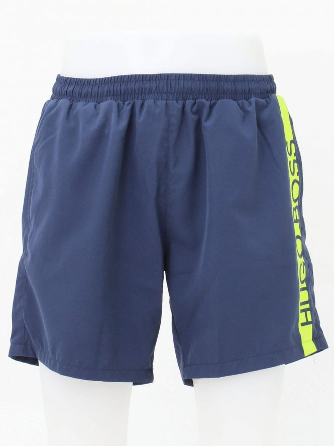 BOSS Swimwear Dolphin Swim Shorts - Navy