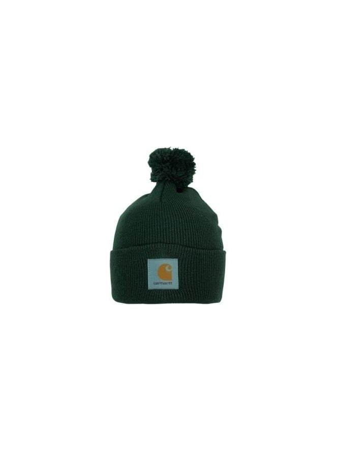 Carhartt - Carhartt Bobble Watch Hat - Cypress - Carhartt Mens ... 35f94dcd95a9