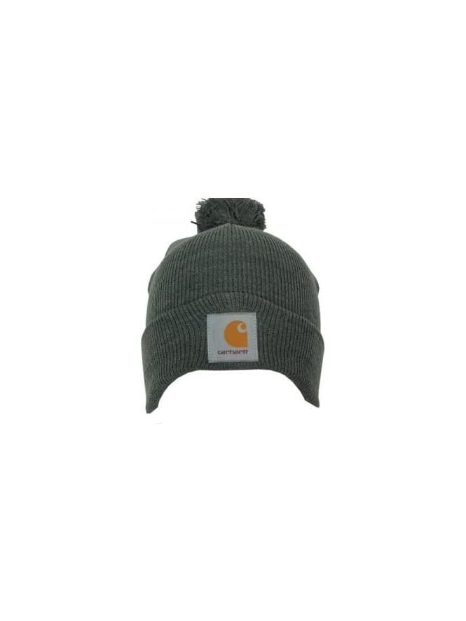 Carhartt - Carhartt Bobble Watch Hat - Grey Heather - Carhartt Mens ... adb3bf561a7e