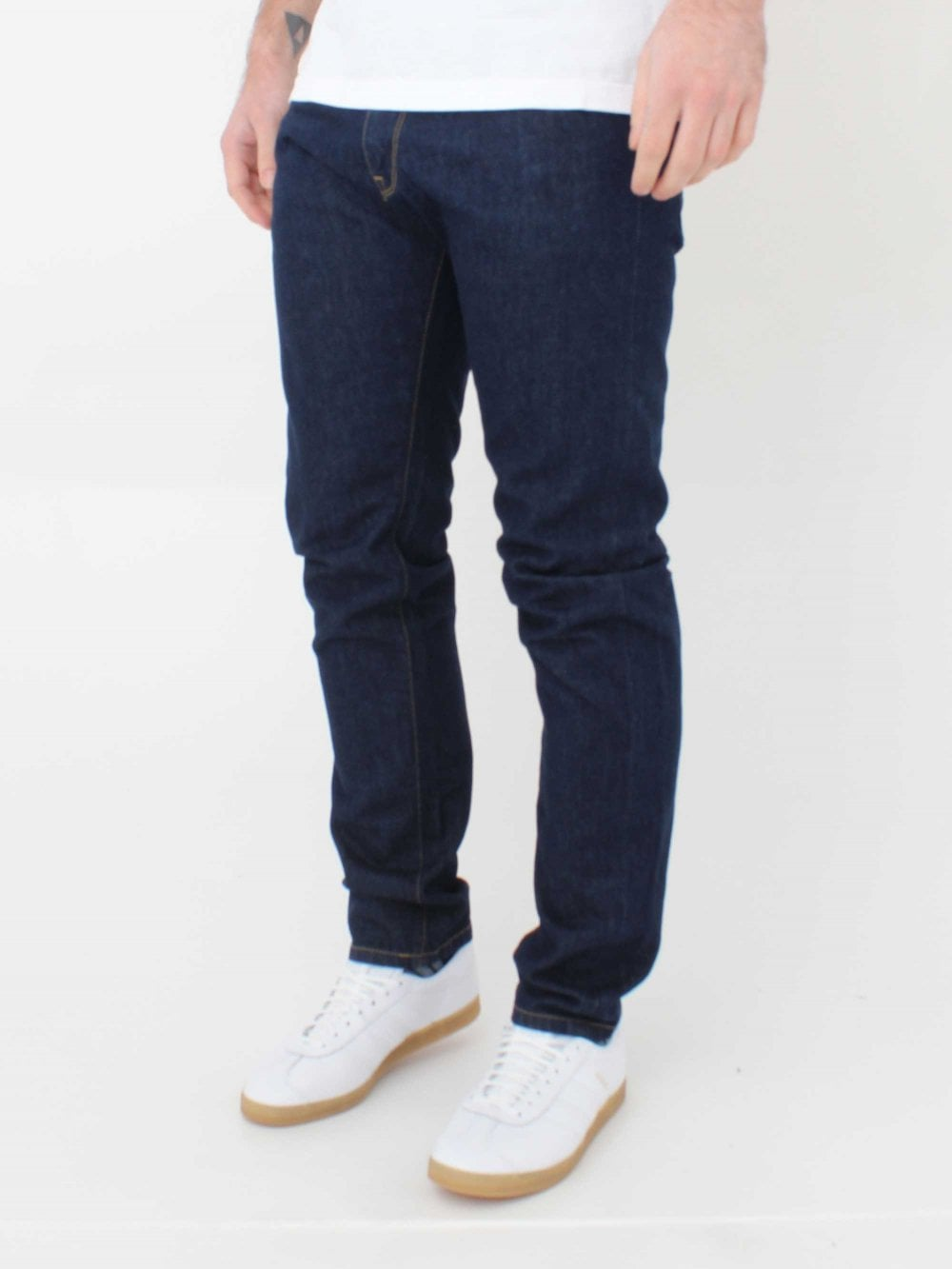 50128e5c Carhartt Vicious Pant Milton Blue Jeans in Blue Rinsed | Northern ...