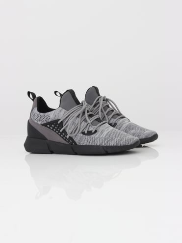 Rapide Knitted Trainer - Grey