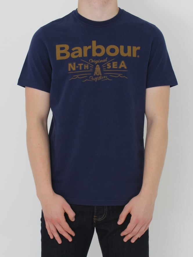 Barbour Cove T Shirt - Blue