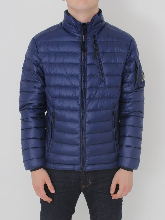 CP Company Arm Lens Down Jacket - Blue