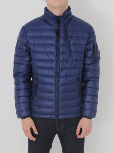 Arm Lens Down Jacket - Blue