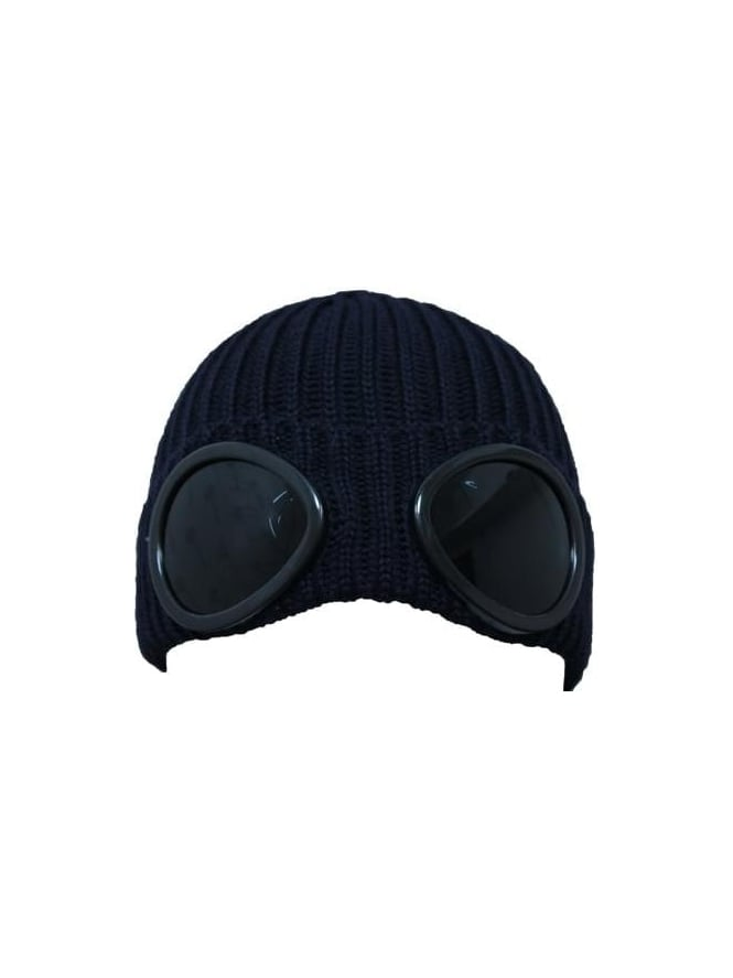 CP Company Goggle Hat - Navy