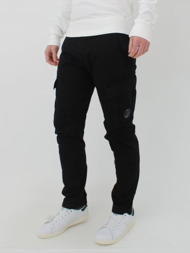 Lens Viewer Cargo Pants - Caviar Black