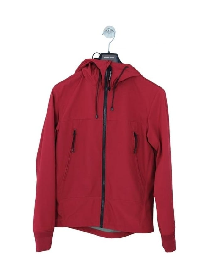 CP Company Softshell Goggle Jacket - Red