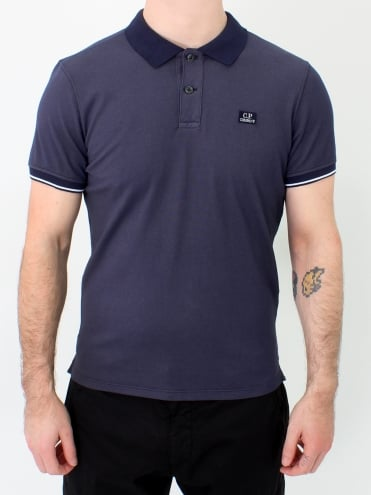 Solid Collar Polo - Eclipse