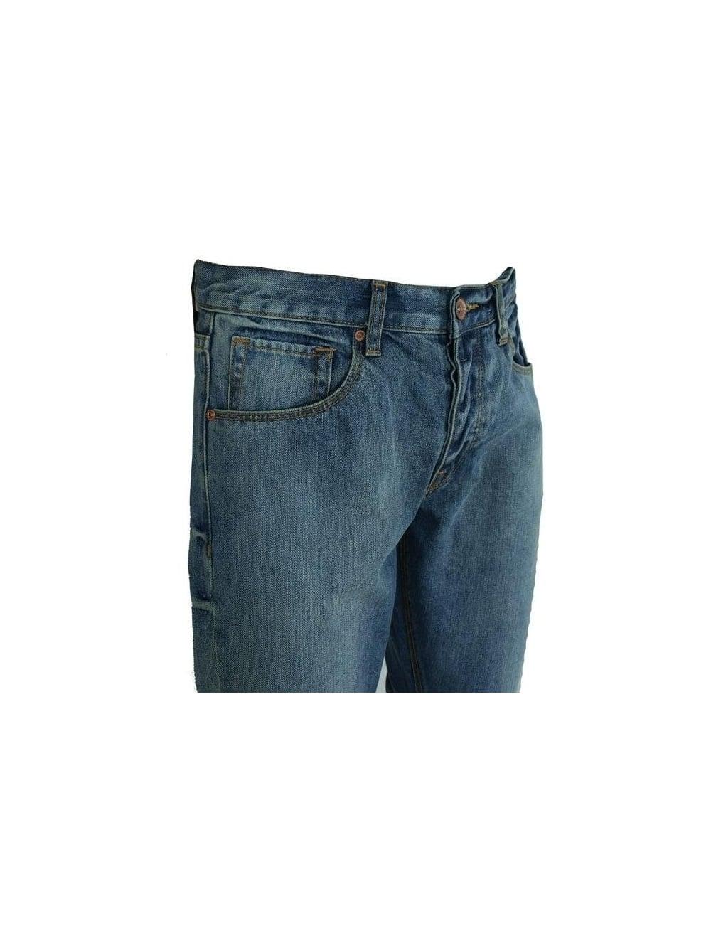 92550fea Mens Dr Denim Raymond Regular Straight Jeans - Blue Vintage | SALE ...