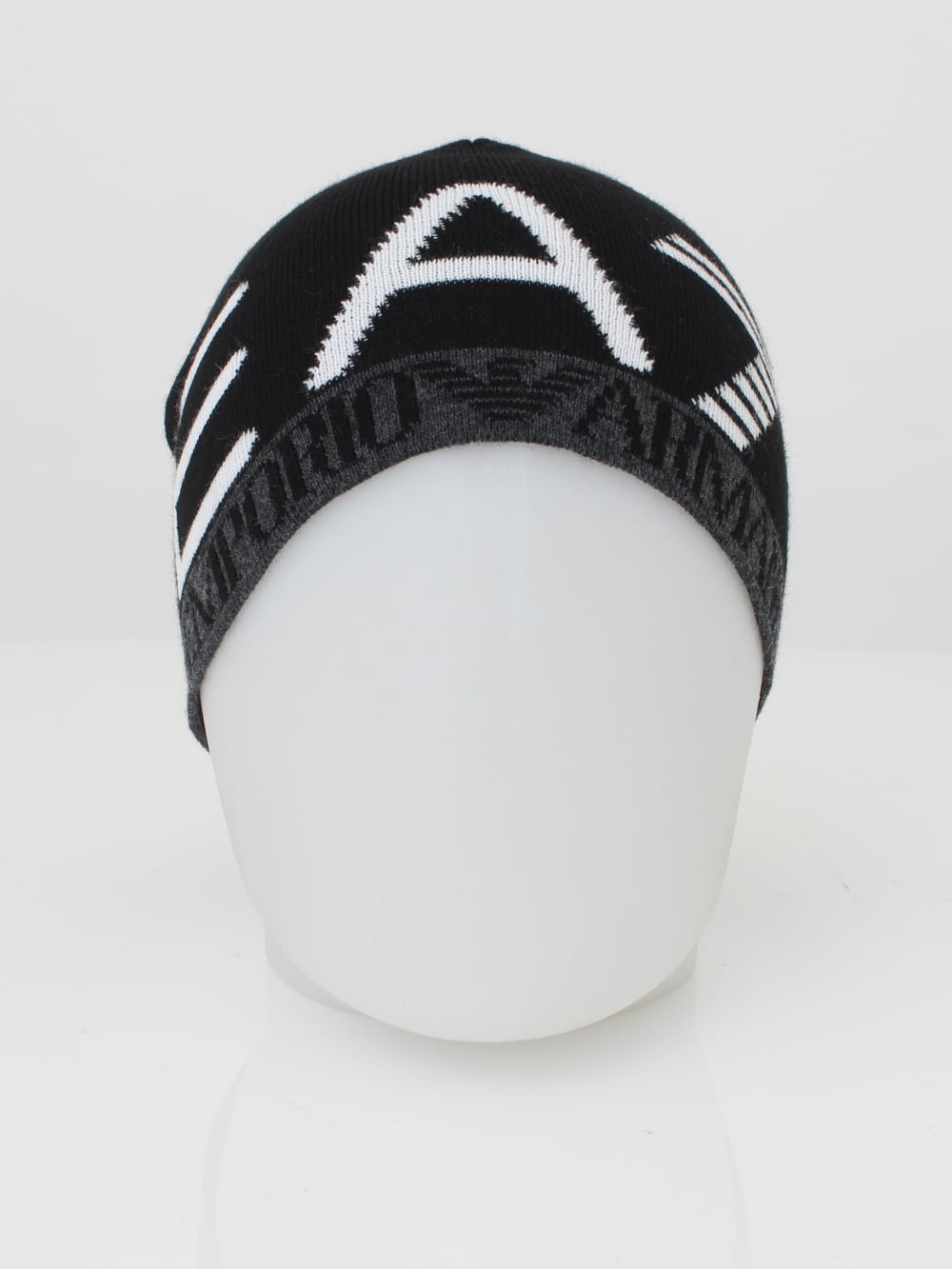 EA7 Beanie Hat in Black - Northern Threads 892637beed0