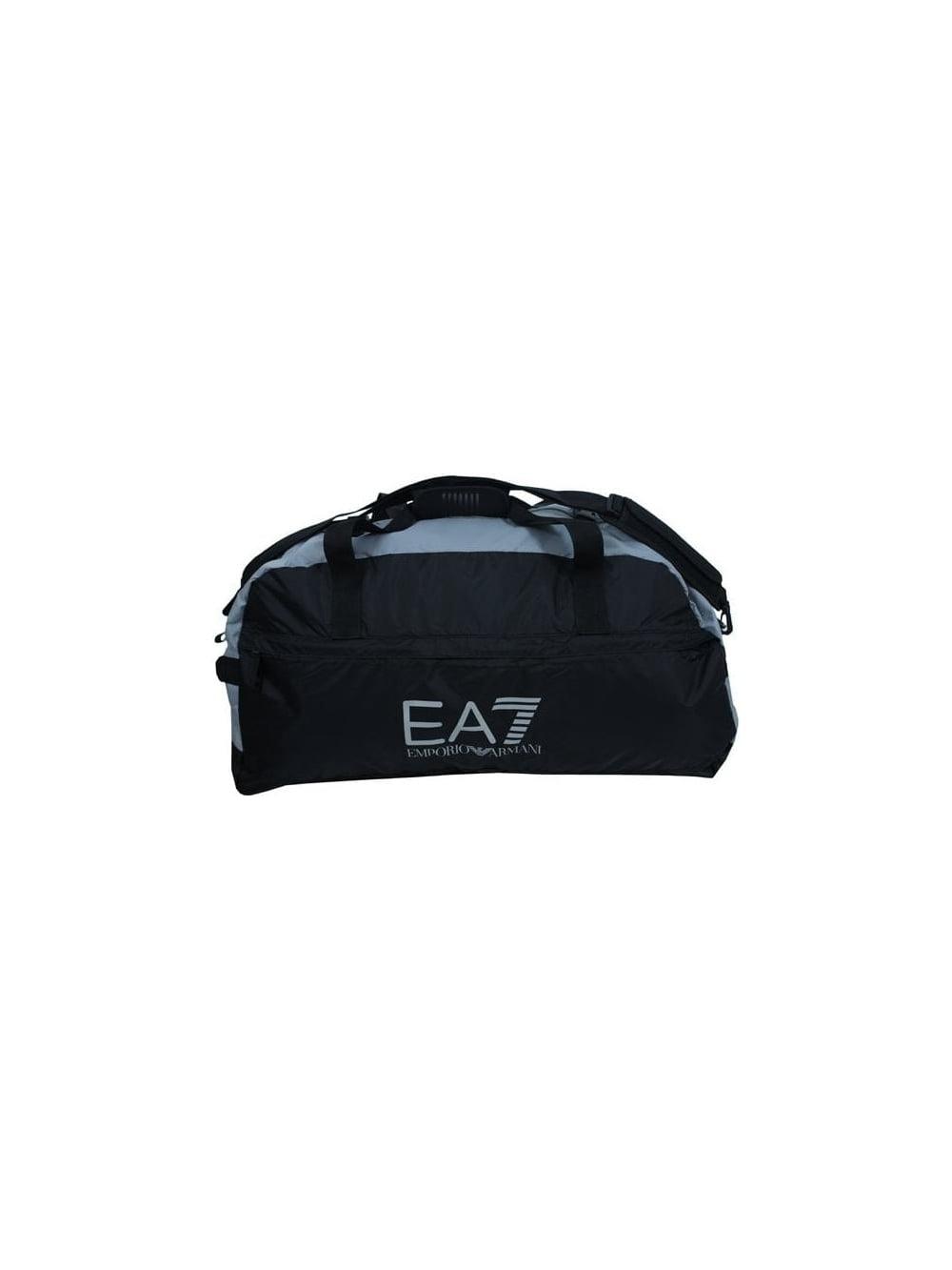 dc2602ff9aea EA7 Big Logo Large Duffle Bag in Black - Northern Threads
