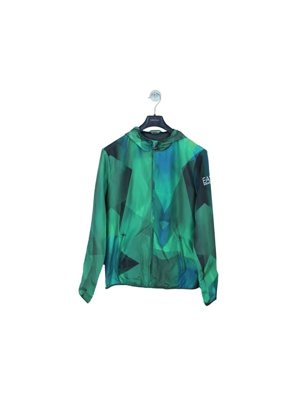 942113f73 EA7 Core ID Graphic Jacket in Forrest - Northern Threads