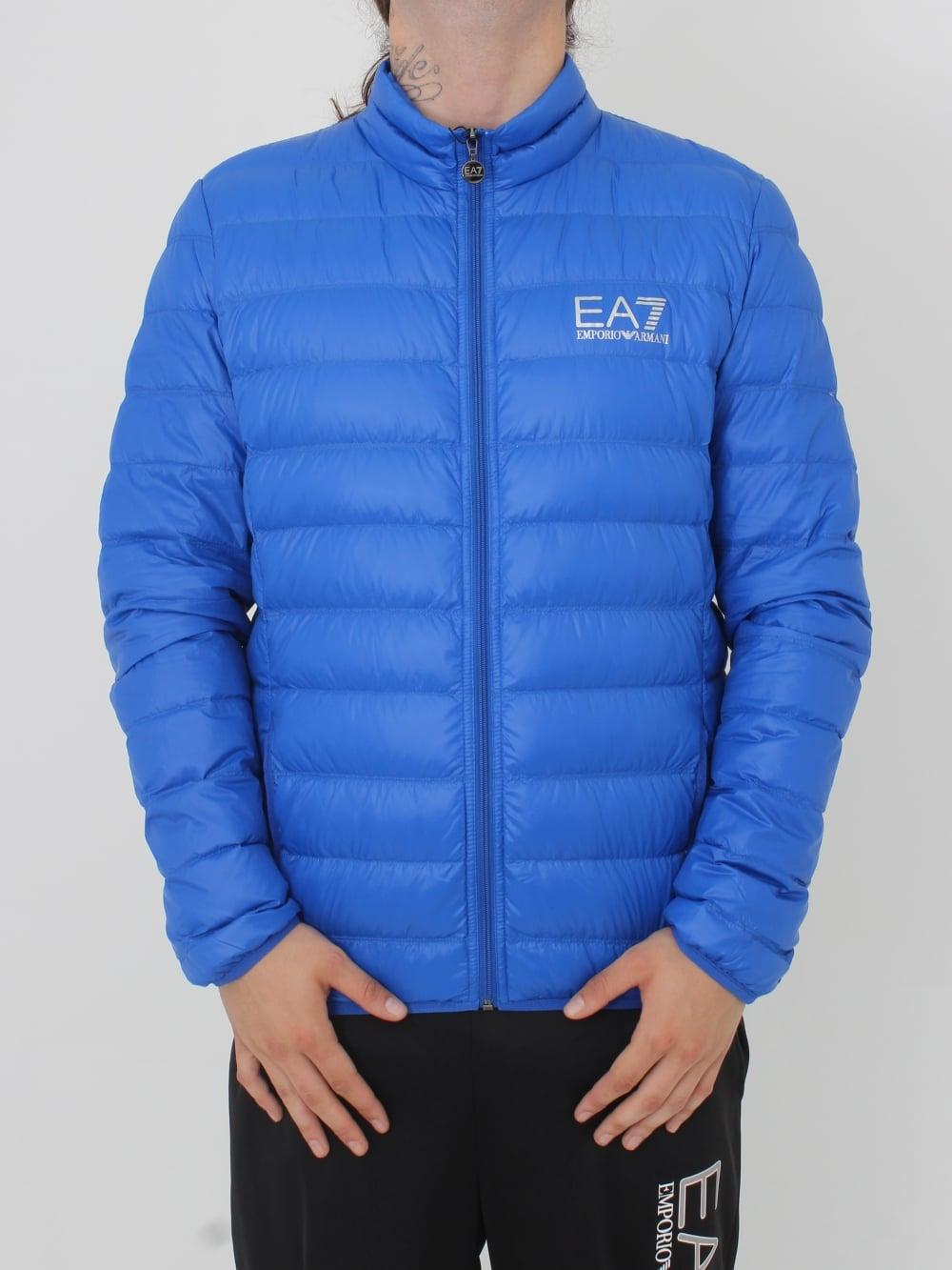 blue ea7 hoodie