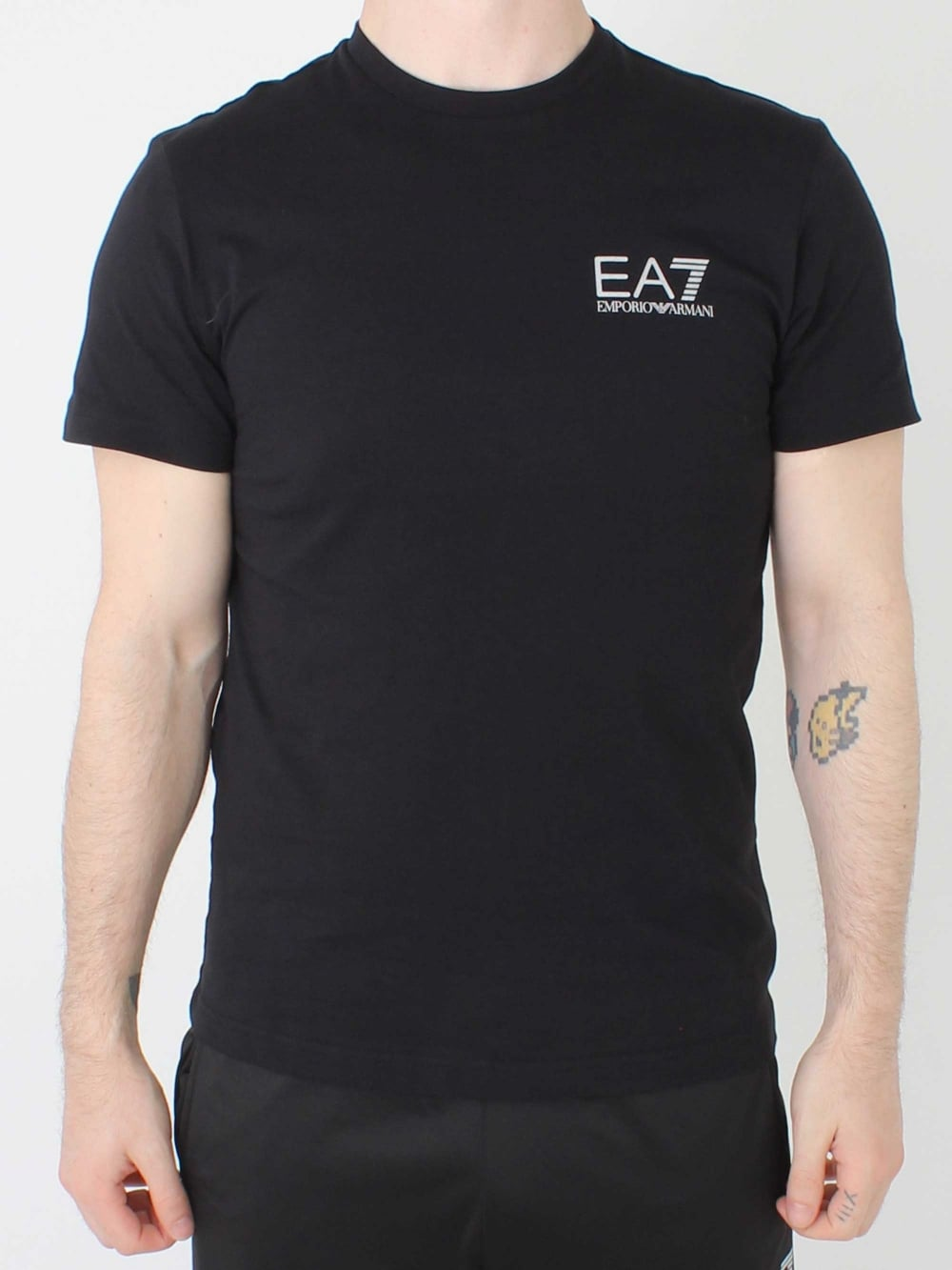 e81d14c3 EA7 T.Shirt in Black | Northern Threads