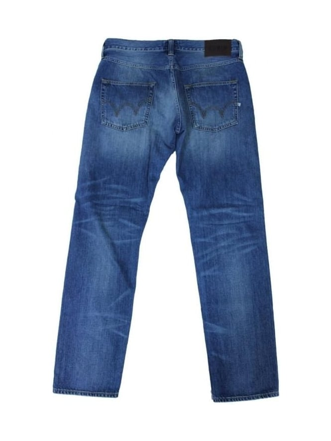 Edwin ED55 Relaxed Tapered Jeans - Glint Used