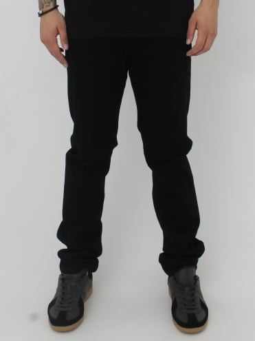 ED80 CS White Listed Selvage - Black
