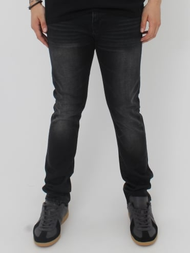 ED90 CS 11.50OZ Ink Black Denim - Goth Black
