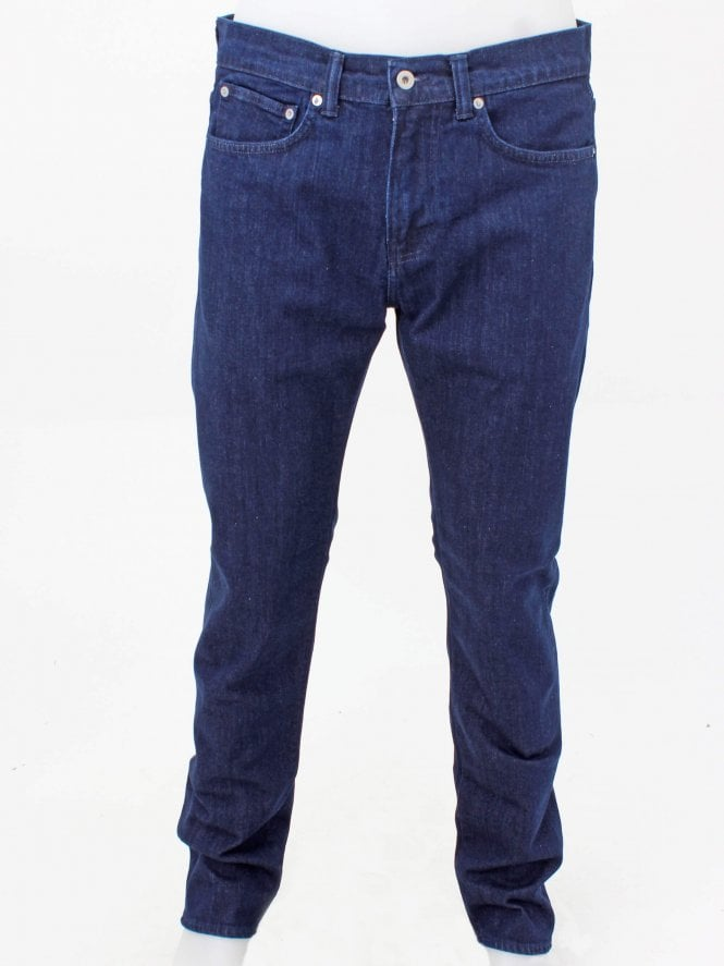Edwin ED 80 Braxton Blue 12oz Denim - Blue Rinsed