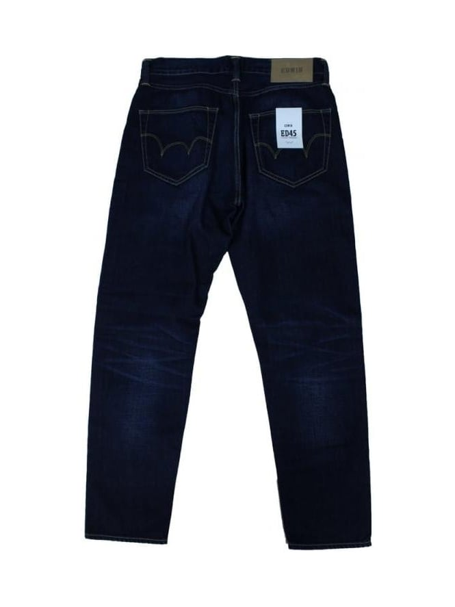 Edwin ED45 11.8 oz Regular Jeans - Coal Wash