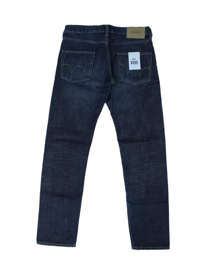 Edwin ED55 13.5 oz Jeans Tapered Jeans - Load Wash