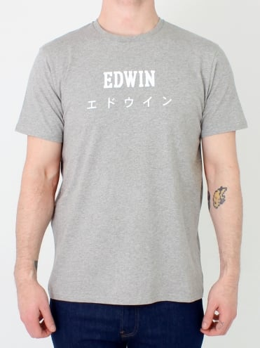 Japan T.Shirt - Grey Marle