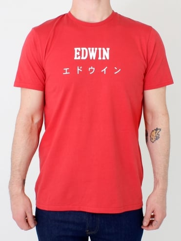 Japan T.Shirt - Washed Red