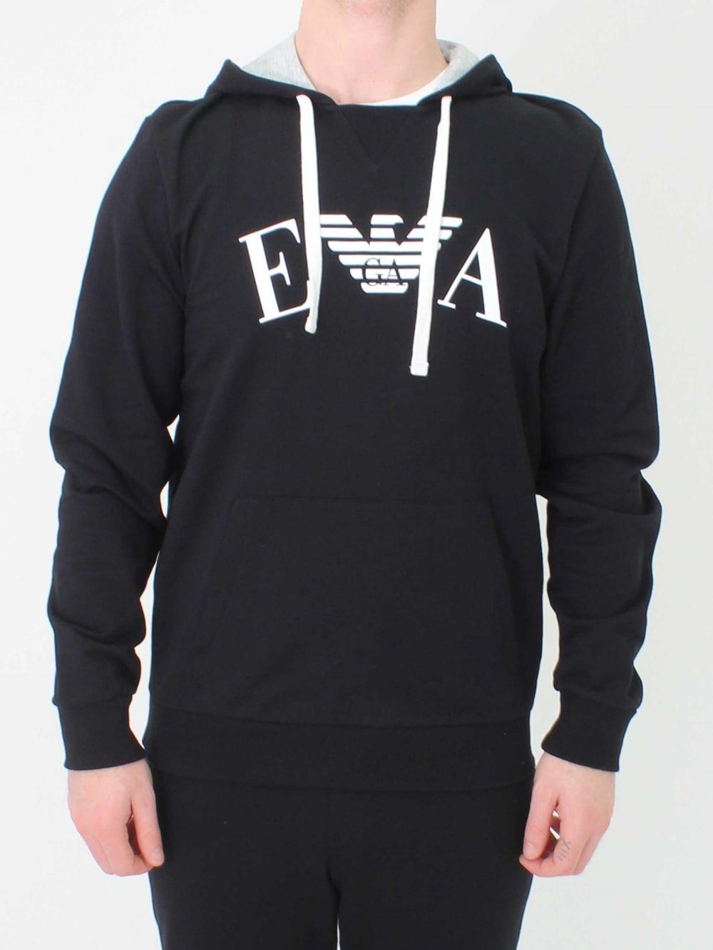black armani sweatshirt