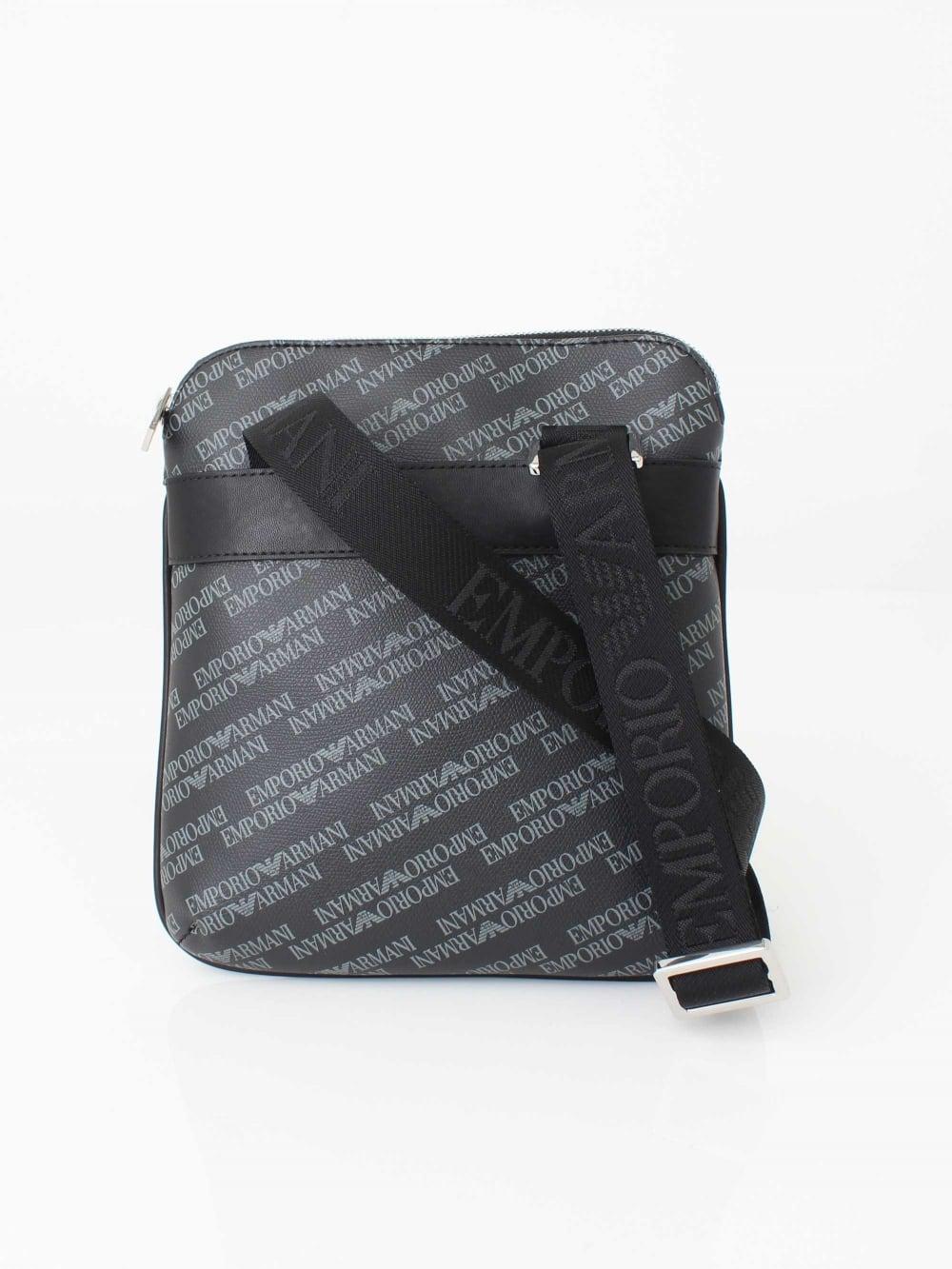 Emporio Armani Messenger Bag in Black  a2b54d6e63986