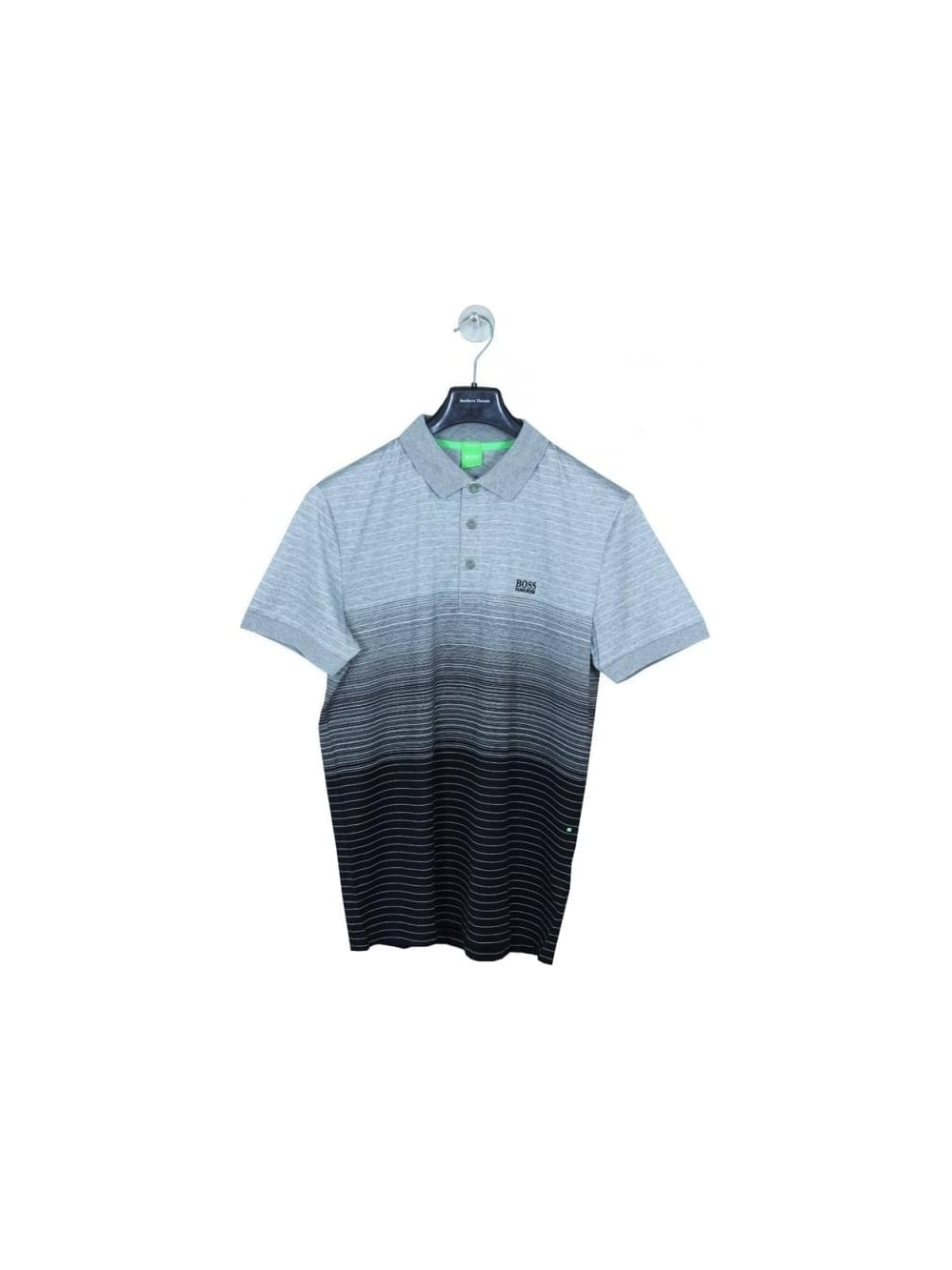 02ac8153e HUGO BOSS BOSS Green Paddy 3 Polo in Black - Northern Threads