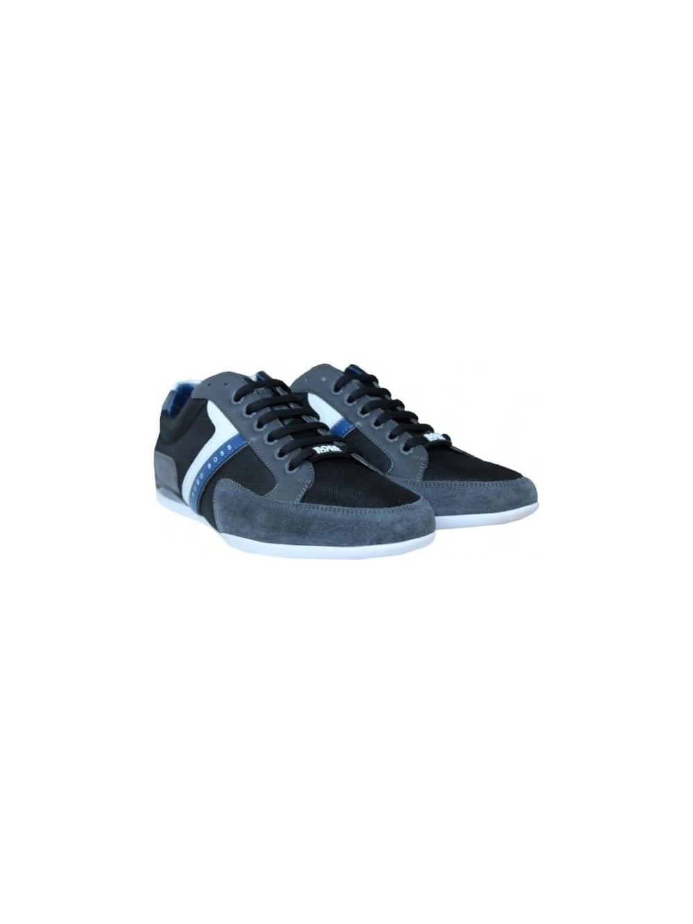 Boss Green Spacit Trainer in Charcoal
