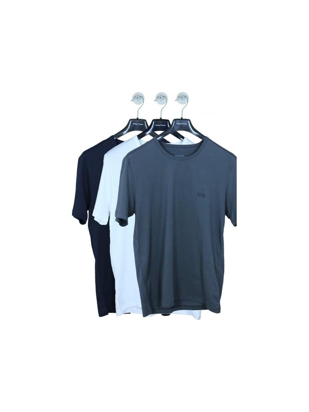 HUGO BOSS BOSS Hugo Boss 3 Pack T Shirt Box Set in Multi - Northern ... e4522cab7adf