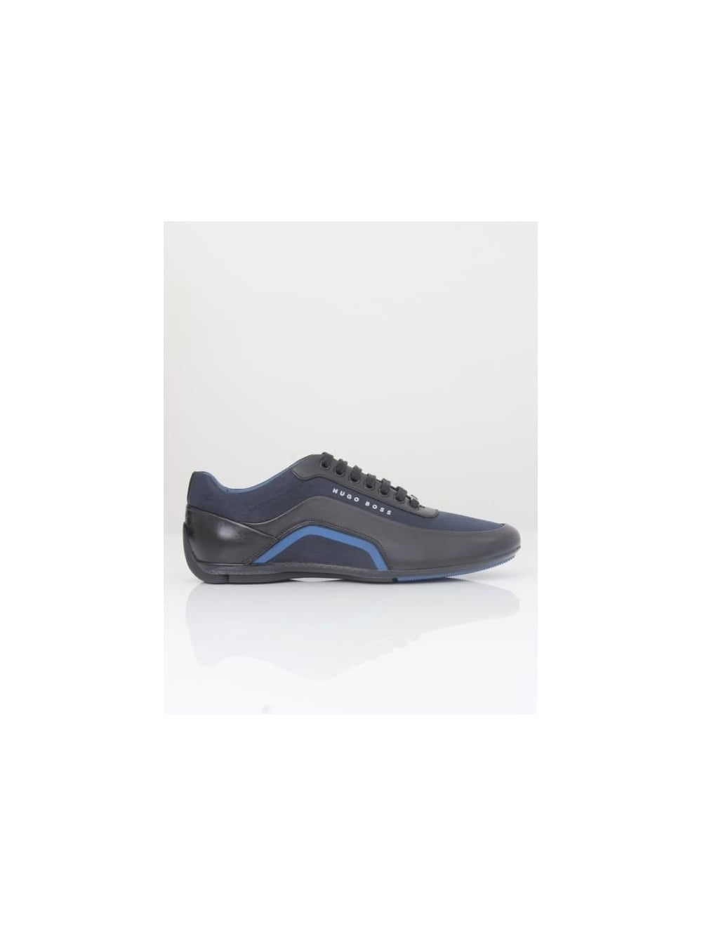shop for newest select for latest outlet store - Hugo HBracing Lowp Trainer - Dark Blue