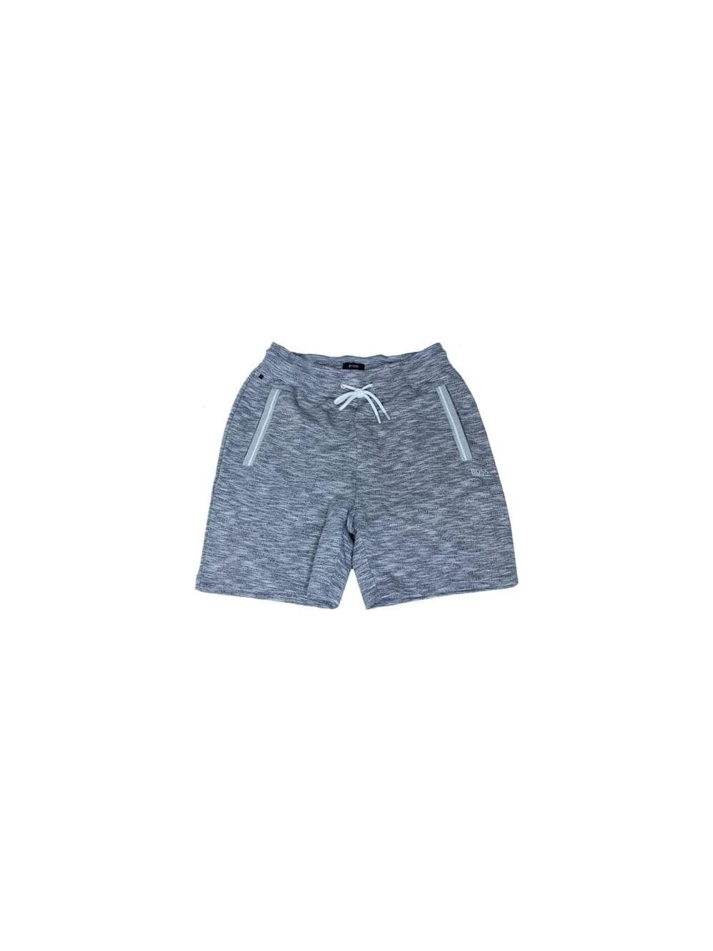 2b019ac91 Hugo Boss Black Short Sweat Pants in Medium Grey - Northern Threads