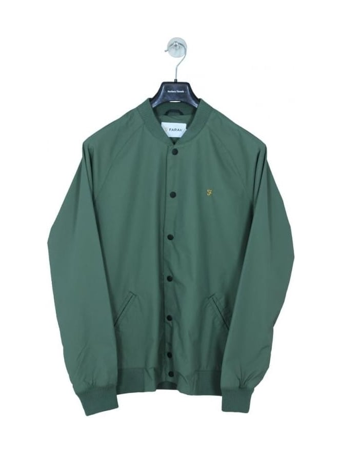 Farah Bellinger Bomber Jacket - Military Green